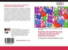Обложка Análisis de la interacción cultural en Educación Infantil y Primaria