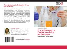 Copertina di Procedimientos de Evaluación de los Surfactantes