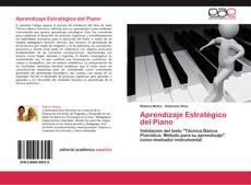 Portada del libro de Aprendizaje Estratégico del Piano