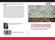 Couverture de Los géneros literarios en la Baja Edad Media