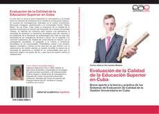 Portada del libro de Evaluación de la Calidad de la Educación Superior en Cuba