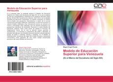 Capa do livro de Modelo de Educación Superior para Venezuela