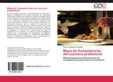 Portada del libro de Mapa de Competencias del cocinero profesional