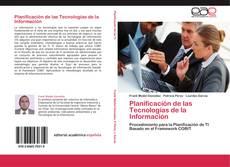 Portada del libro de Planificación de las Tecnologías de la Información
