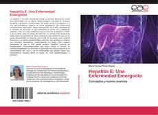 Portada del libro de Hepatitis E: Una Enfermedad Emergente