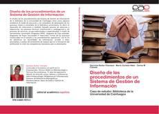 Capa do livro de Diseño de los procedimientos de un Sistema de Gestión de Información
