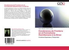 Buchcover von Condiciones de Frontera en el Formalismo Hamiltoniano à la Dirac