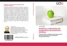 Capa do livro de Análisis y valoración de programas de prácticas clínicas