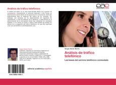 Buchcover von Análisis de tráfico telefónico
