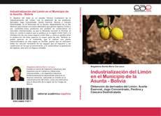 Bookcover of Industrialización del Limón en el Municipio de la Asunta - Bolivia