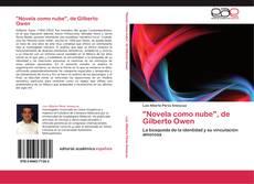 """Portada del libro de """"Novela como nube"""", de Gilberto Owen"""