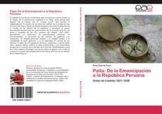 Portada del libro de Paita: De la Emancipación a la República Peruana