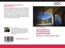 Copertina di Ética pública y transparencia gubernamental