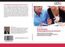 Buchcover von Estrategias metacognitivas de lectura