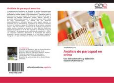 Обложка Análisis de paraquat en orina