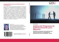 Capa do livro de Análisis de Programas de Cofinanciamiento para Mipymes