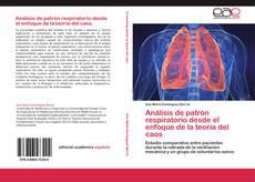 Portada del libro de Análisis de patrón respiratorio desde el enfoque de la teoría del caos