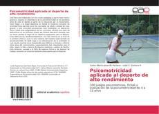 Borítókép a  Psicomotricidad aplicada al deporte de alto rendimiento - hoz