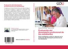 Bookcover of Evaluación del desempeño profesional de los estudiantes