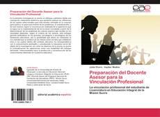 Portada del libro de Preparación del Docente Asesor para la Vinculación Profesional