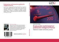 Bookcover of Evaluación nutricional en población indígena Piaroa