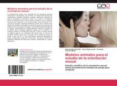 Capa do livro de Modelos animales para el estudio de la orientación sexual