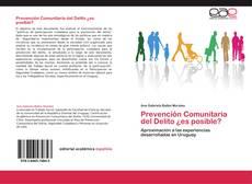 Bookcover of Prevención Comunitaria del Delito ¿es posible?