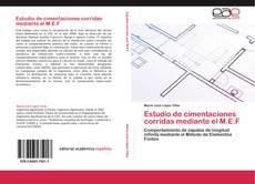 Обложка Estudio de cimentaciones corridas mediante el M.E.F