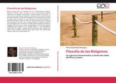 Capa do livro de Filosofía de las Religiones