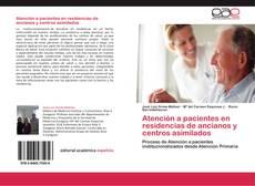 Обложка Atención a pacientes en residencias de ancianos y centros asimilados