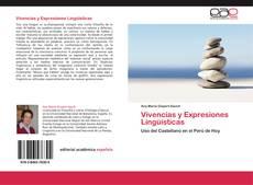 Portada del libro de Vivencias y Expresiones Lingüísticas