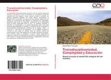 Capa do livro de Transdisciplinariedad, Complejidad y Educación