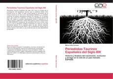 Portada del libro de Periodistas Taurinos Españoles del Siglo XIX