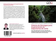 Buchcover von Colonia de Hormigas para la generación de trayectorias de corte