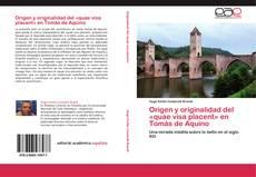 Capa do livro de Origen y originalidad del «quae visa placent» en Tomás de Aquino