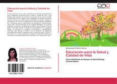Bookcover of Educación para la Salud y Calidad de Vida