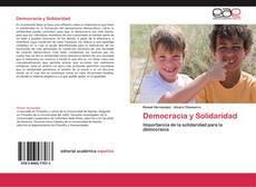 Bookcover of Democracia y Solidaridad