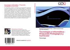 Portada del libro de Tecnología e Informática - Propuesta Pedagógica y Curricular