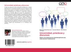 Copertina di Universidad, prácticas y discursos