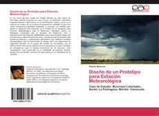 Capa do livro de Diseño de un Prototipo para Estación Meteorológica