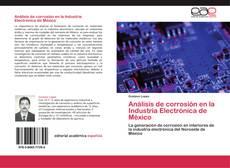 Buchcover von Análisis de corrosión en la Industria Electrónica de México