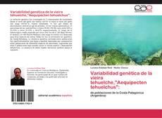 """Capa do livro de Variabilidad genética de la vieira tehuelche,""""Aequipecten tehuelchus"""":"""