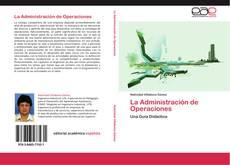 Bookcover of La Administración de Operaciones