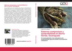 Bookcover of Saberes campesinos y sostenibilidad en Sierra Gorda, Guanajuato