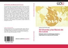 Bookcover of Gil Vicente y las Naves de los Locos