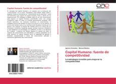 Portada del libro de Capital Humano: fuente de competitividad