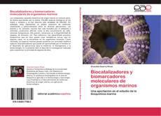 Capa do livro de Biocatalizadores y biomarcadores moleculares de organismos marinos