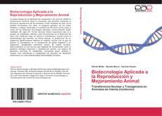 Capa do livro de Biotecnología Aplicada a la Reproducción y Mejoramiento Animal
