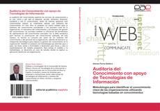 Bookcover of Auditoría del Conocimiento con apoyo de Tecnologías de Información