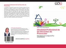 Portada del libro de Identidad Profesional de las Docentes de Preescolar